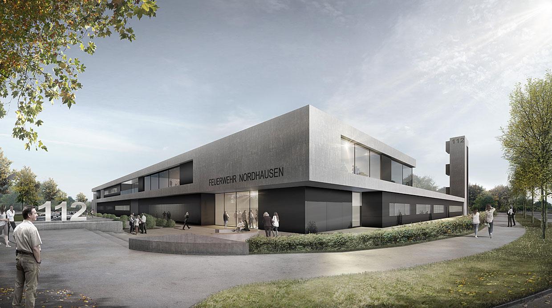 Architekt Nordhausen feuerwehr nordhausen n2 architekten